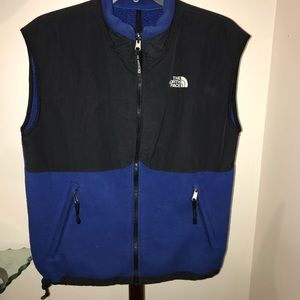 The North Face polyester/nylon vest